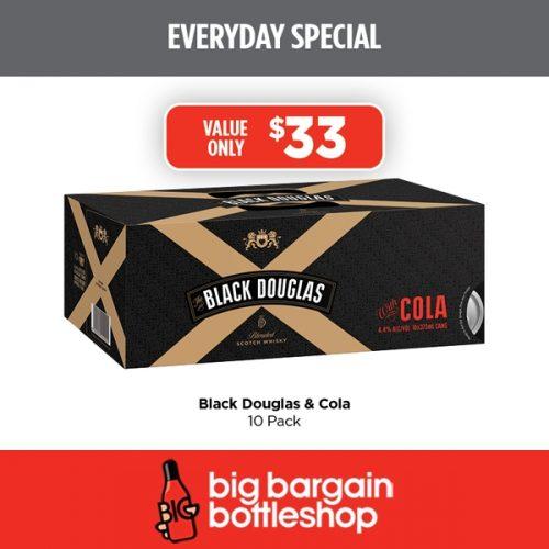 BBB Black Douglas Cola