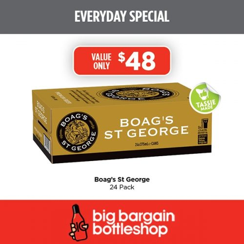 BBB Boags St George 24 pack