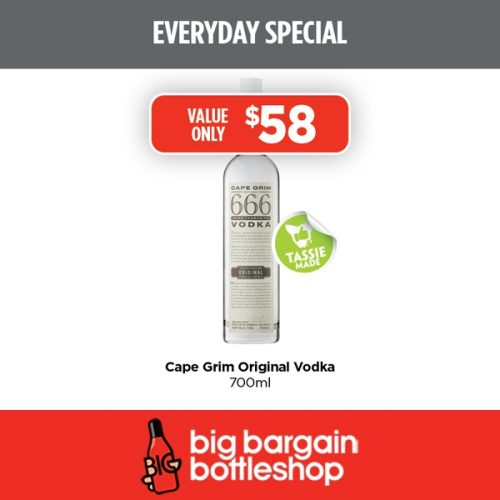 BBB Cape Grim Original Vodka