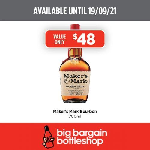 BBB Makers Mark Bourbon 700ml