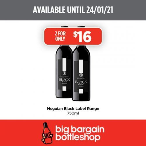 BBB Mcguigan Black Label Double Buy