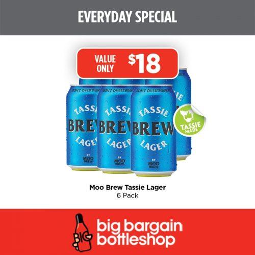 BBB Moo Brew Tassie Lager 6 Pack