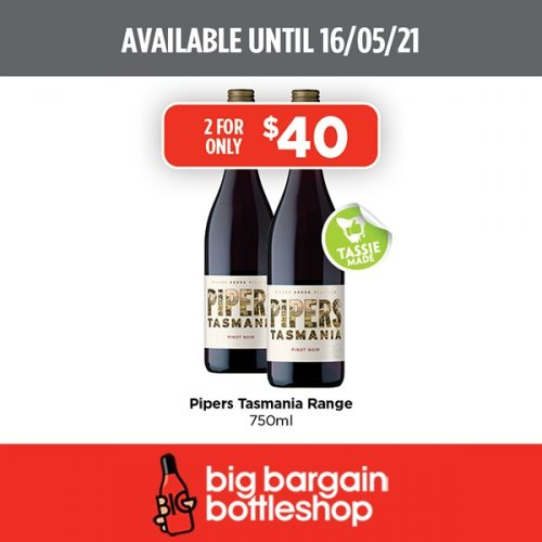 BBB Pipers Tasmania Range 750ml