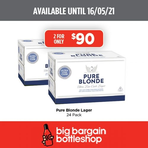 BBB Pure Blonde Lager 24 pack
