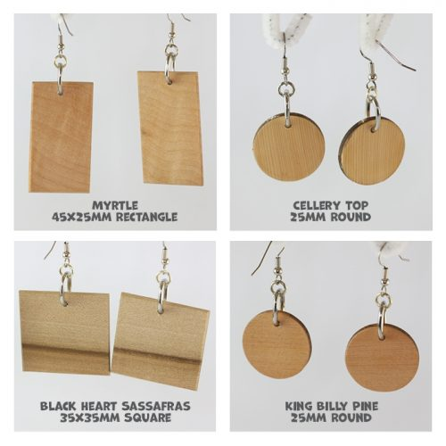 Boa Tasmania Hanging Earrings Group