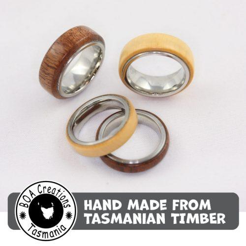 Boa Tasmania Band Ring