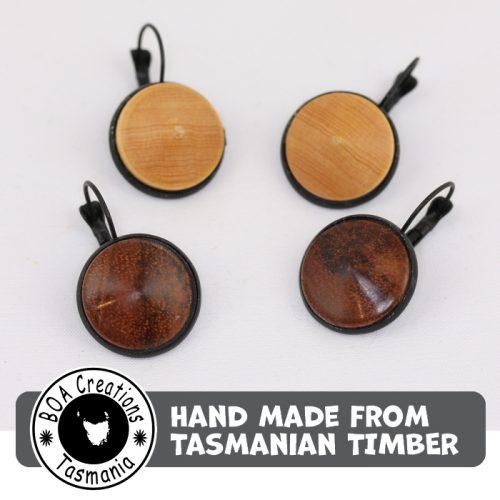 Boa Tasmania Earrings Black