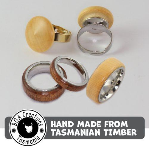 Boa Tasmania Rings