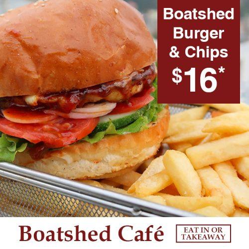 Boatshed Cafe Burger