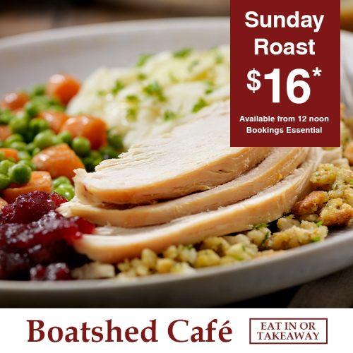 Boatshed Cafe Sunday Roast