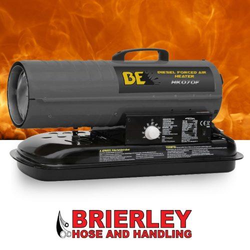 Brierley Hose Handline Diesel Forced Air Heater HK070 F
