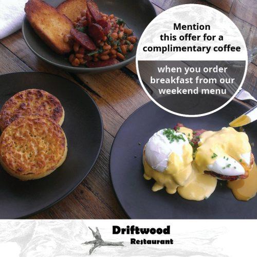Driftwood Restaurant Free Coffee