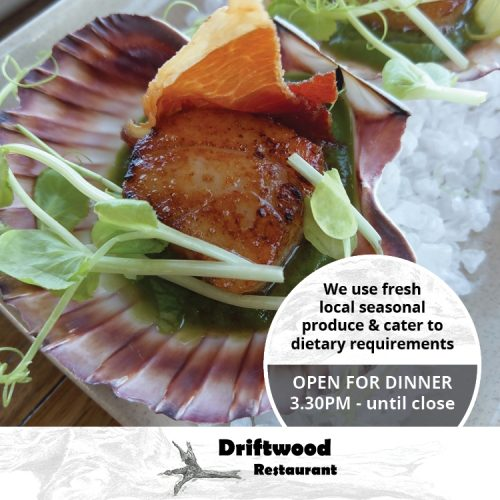 Driftwood Restaurant Offers Dinner