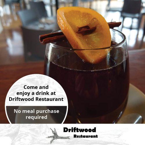 Driftwood Restaurant Offers Drinks