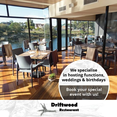 Driftwood Restaurant Offers Functions