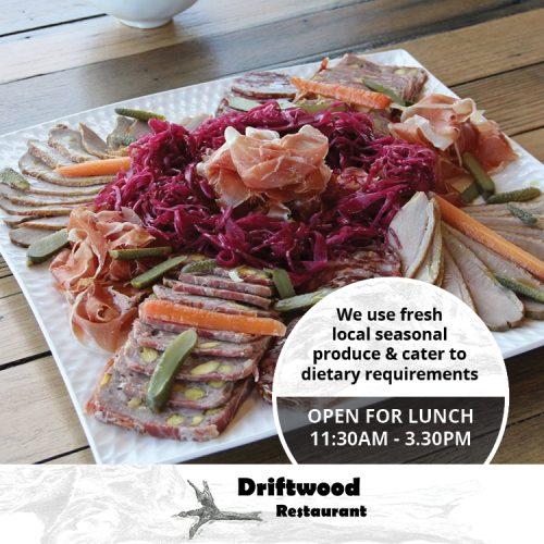 Driftwood Restaurant Offers Lunch