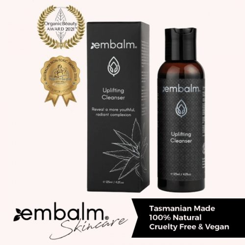 Embalm Skincare uplifting cleanser