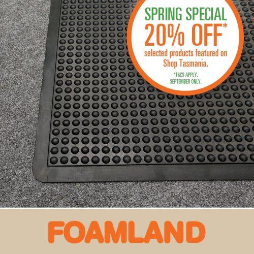 Foamland matting offer