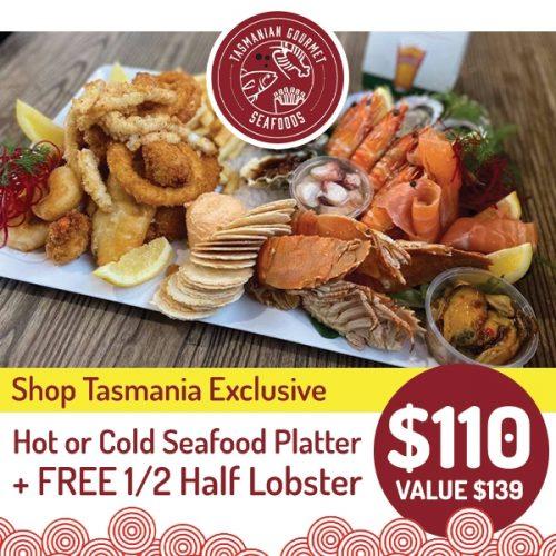Gourmet Seafoods Hot Cold Platter