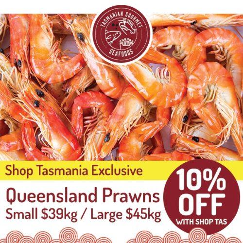 Gourmet Seafoods Queensland Prawns