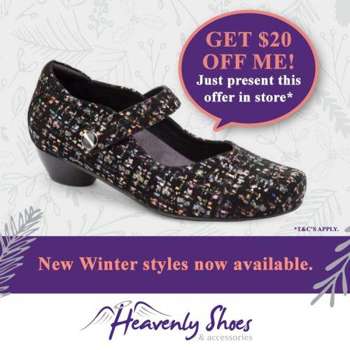Heavenly Shoes Daisy