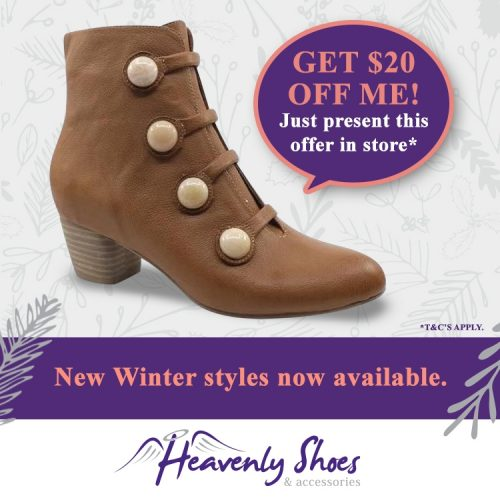 Heavenly Shoes Donte