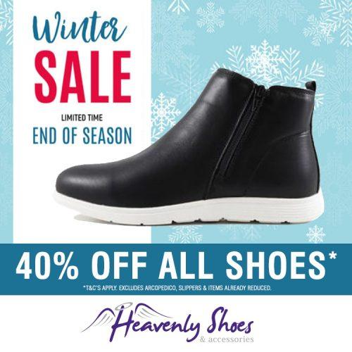 Heavenly Shoes Jasper Black