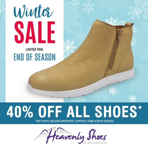 Heavenly Shoes Jasper Camel