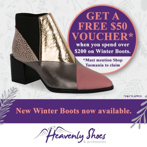 Heavenly Shoes Voucher Update