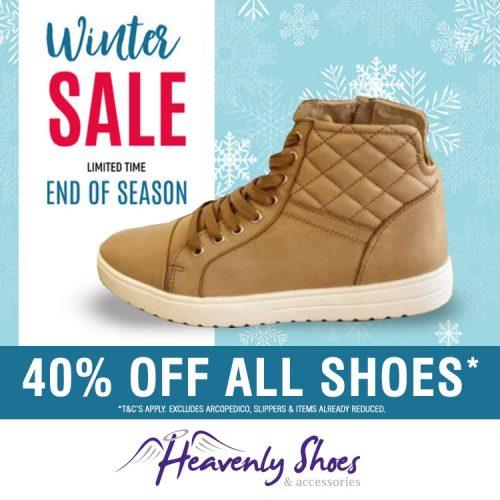 Heavenly Shoes Winter Alvie Evie