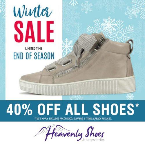 Heavenly Shoes Winter Joyous