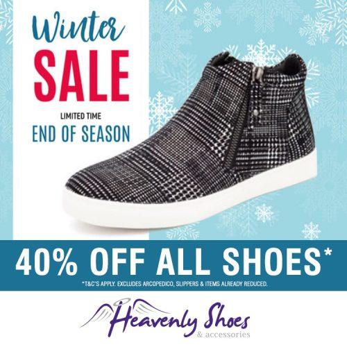 Heavenly Shoes Winter Manhatten