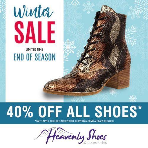 Heavenly Shoes Winter Matza