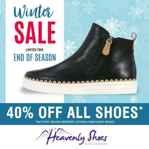 Heavenly Shoes Winter Morocan