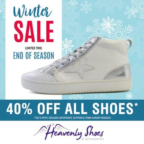 Heavenly Shoes Winter Vanity