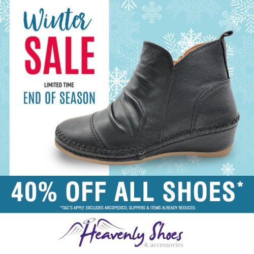 Heavenly Shoes Winter Wills