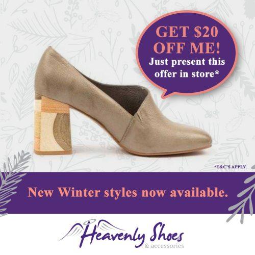 Heavenly Shoes Yamin