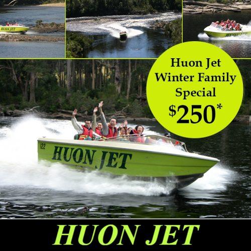 Huon Jet Winter Family Special