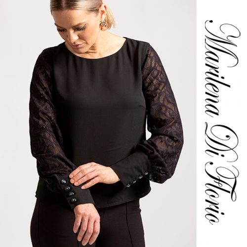 Marilena Di Florio Lace Blouse Sleeves