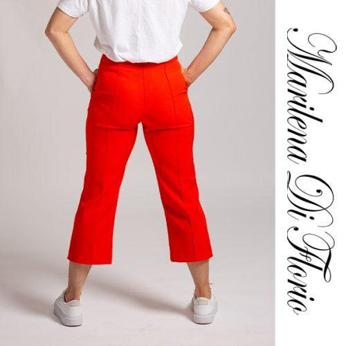 Marilena Di Florio Pant Orange Back