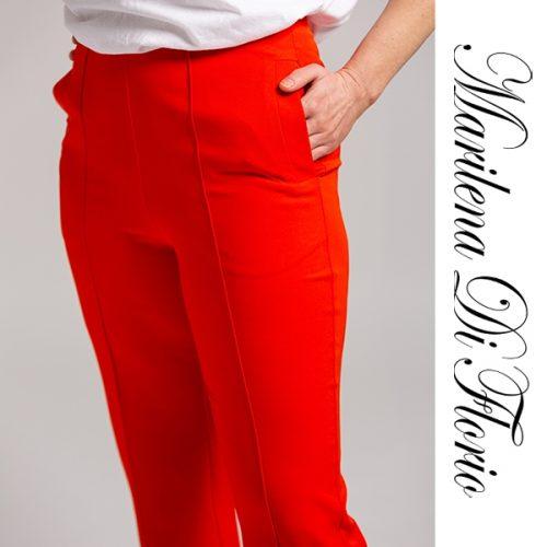 Marilena Di Florio Pant Orange Detail