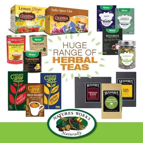 NW STAS Herbal Teas Range