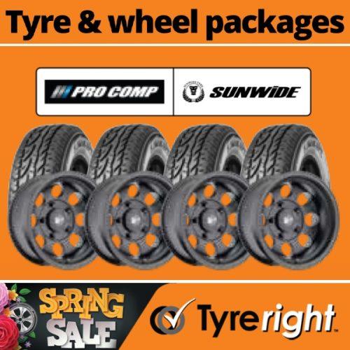 Offer Tyre Wheel Package1 Pro Comp Sunwide