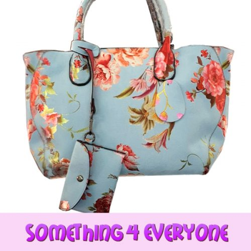 S4 E Blue Handbag With Flowers