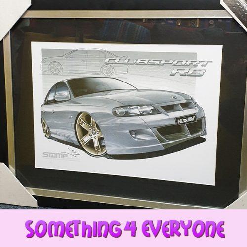 S4 E Framed Holden Picture