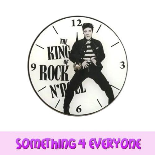 S4 E White Elvis Clock