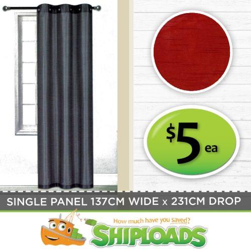 SHP Faux Silk Curtains