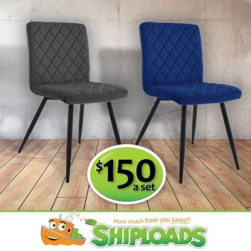 SHP Velvet Dining Chairs