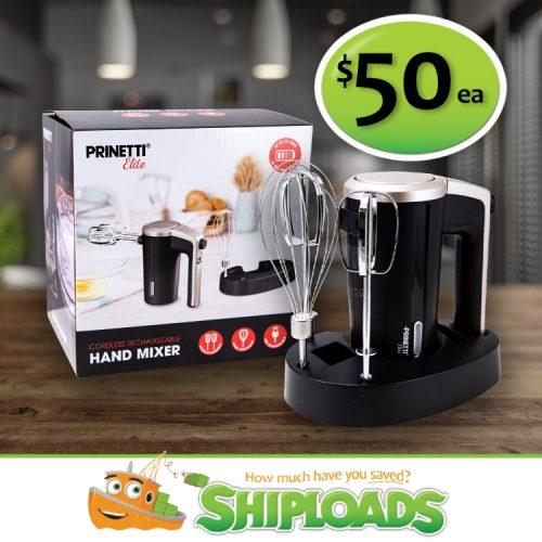 SHP Wireless Hand Mixer