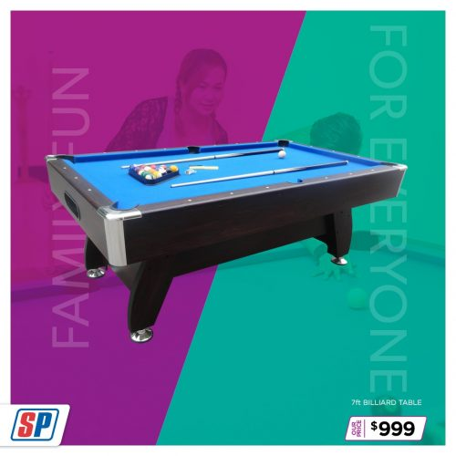 SP21 025 Family Fun 7ft Billiard table